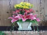 فروش انواع گلدان تزئینی